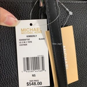 Michael Kors Bags - Michael Kors Kimberly Large 3 in 1 Tote